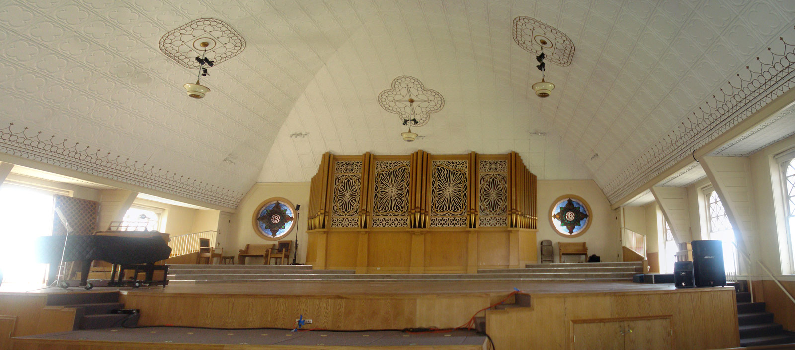 Rexburg Tabernacle Interior