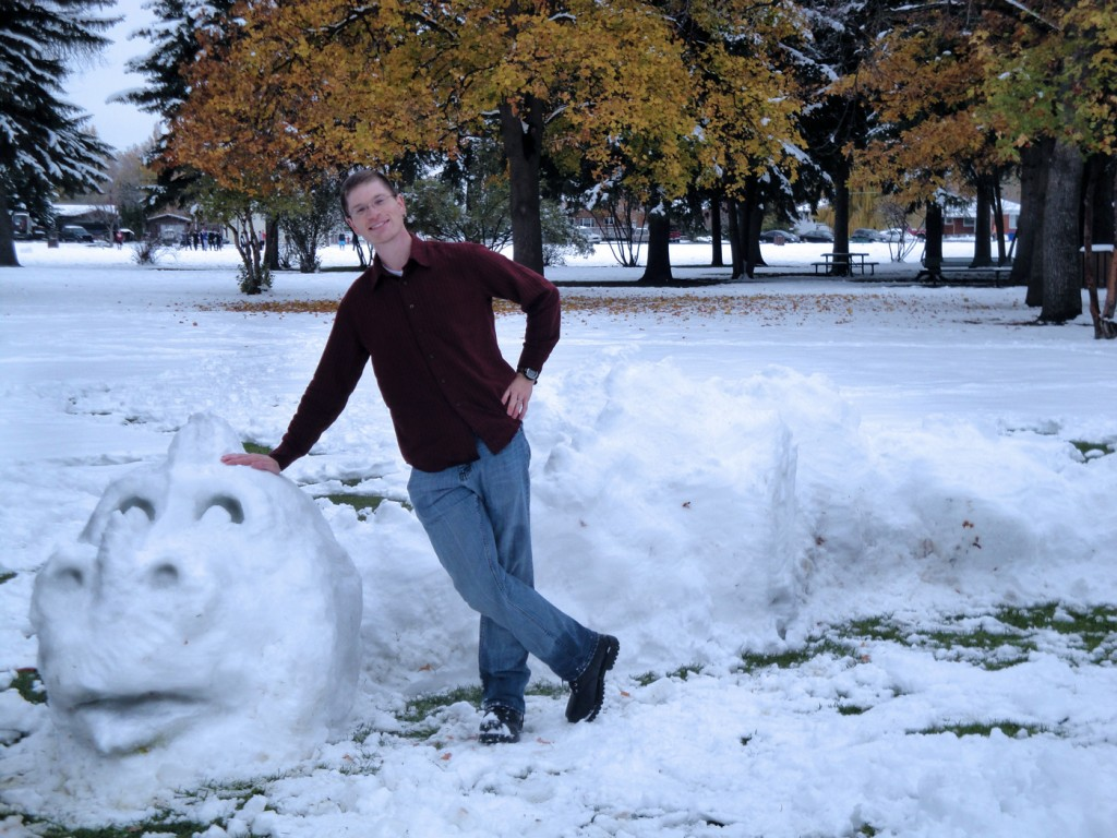Snow Dragon in Porter Park